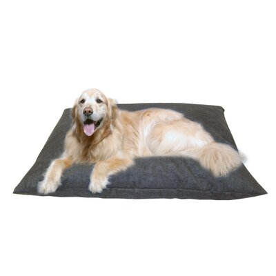 Cleary Indoor/Outdoor Shegang Dog Bed in Solid Blue Size: X-Large