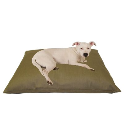 Indoor/Outdoor Shegang Dog Bed in Solid Tan Size: Large