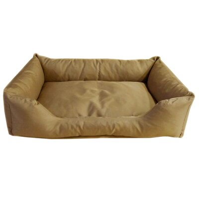 Brutus Tuff Kuddle Lounge Bolster Dog Bed Size: Extra Large (42 L x 30 W), Color: Khaki