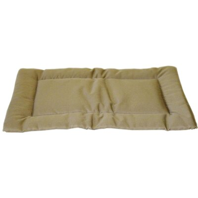 Brutus Tuff Napper Crate Dog Pad Size: Extra Small (19 L x 14 W), Color: Khaki
