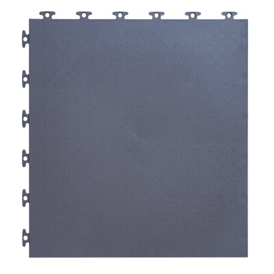 18 x 18  Multi-Purpose Flexible PVC Flat with Texture in Gray