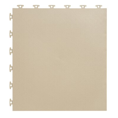 18 x 18  Multi-Purpose Flexible PVC Flat with Texture in Beige