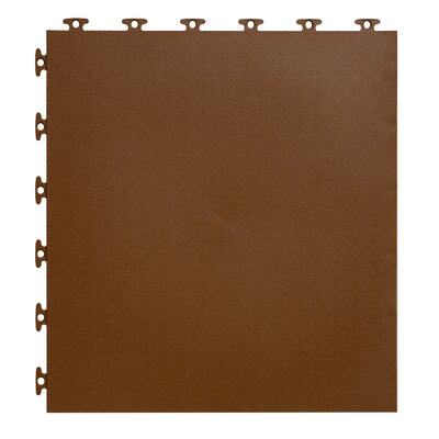 18 x 18  Multi-Purpose Flexible PVC Flat with Texture in Brown