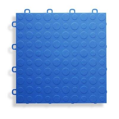 12 x 12  Garage Flooring Tile in Blue