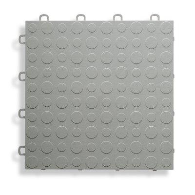 12 x 12  Garage Flooring Tile in Gray