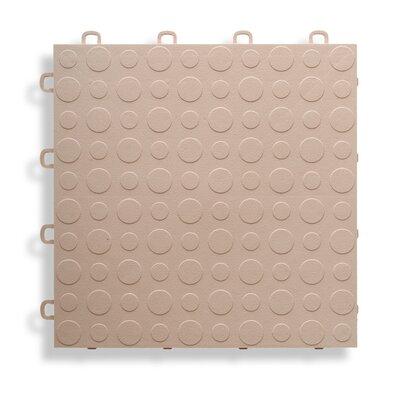 12 x 12  Garage Flooring Tile in Beige