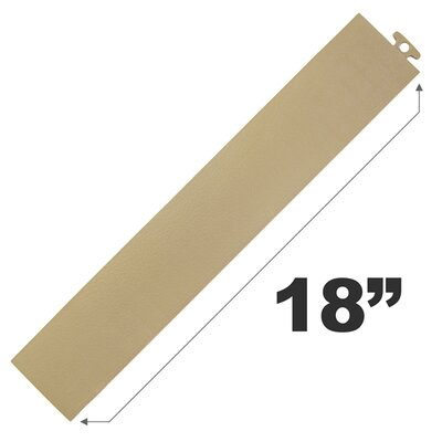 18 Multi Purpose Ramp Edges in Beige without Loops