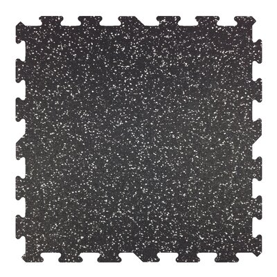 23 x 23 x 8mm - Professional Grade Rubber Tile
