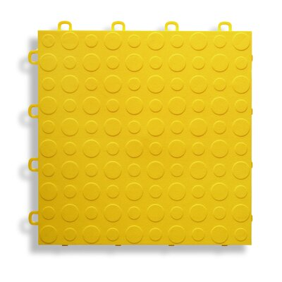 12 x 12  Garage Flooring Tile in Yellow