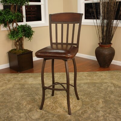 Lancaster 30 inch Swivel Bar Stool