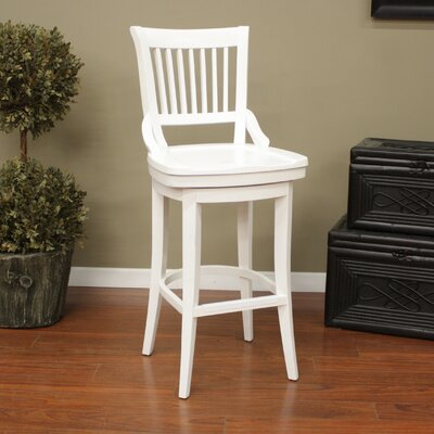 Liberty Swivel Bar Stool Size: 30