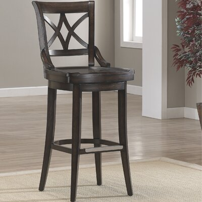 Morrow Swivel Stool Seat Height: 26