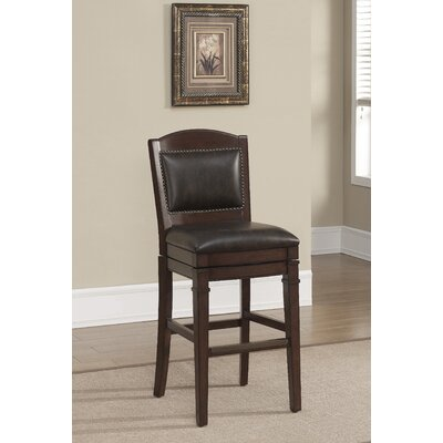 Artesian 30 Swivel Bar Stool Upholstery: Tobacco