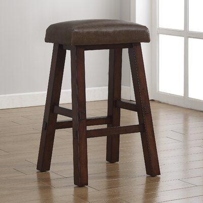 Saddle 30 Bar Stool Upholstery: Sepia