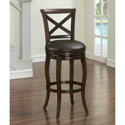 Bulfinch 30 Swivel Bar Stool Finish: Brown