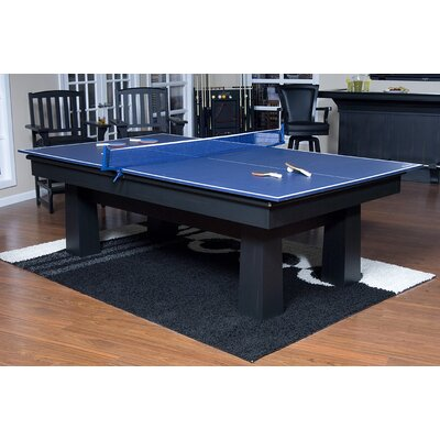 Drop Shot Ping Pong Conversion Top Table Tennis Color Blue With Accessories Yes image