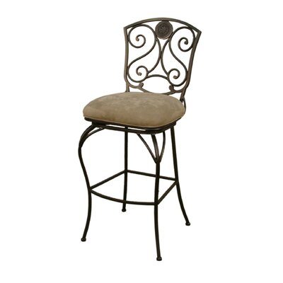 Bad credit financing Canterbury Stool in Pepper with Bas...