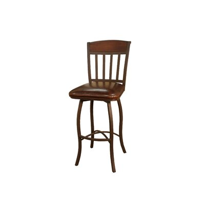 Financing Lancaster Stool in Ginger Spice wit...