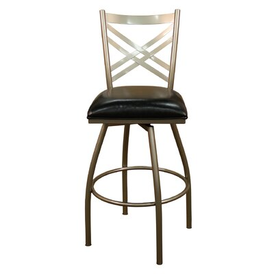 Easy financing Alexander Bar Stool Seat Height: 30...