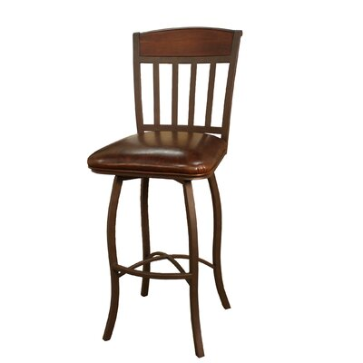 Bad credit financing Lancaster Bar Stool Seat Height: 30...