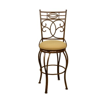 In store financing Belleview Stool in Rustic with Eart...
