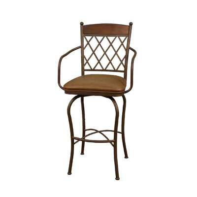 Rent to own Havana Stool in Ginger Spice with N...
