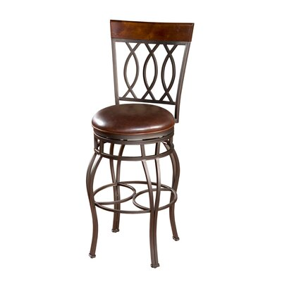 Rent Bella Stool in Pepper with Bourbon ...