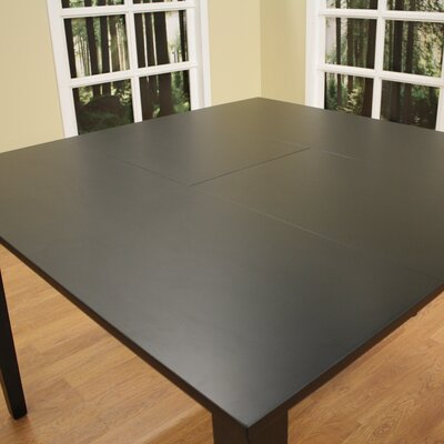 Este Butterfly Counter Height Dining Table Finish Black