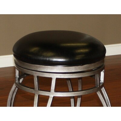 Bad credit financing Bella Backless Stool Finish: Cobalt...