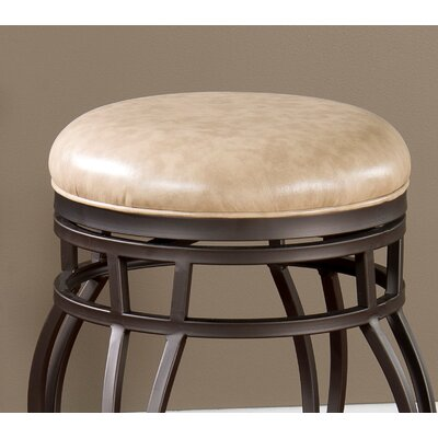 No credit financing Bella Backless Stool Seat Height: 3...