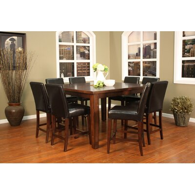 Cameo 9 Piece Counter Height Pub Set