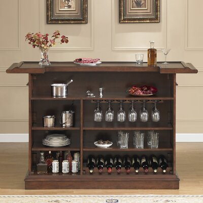 Valore Bar with Wine Storage Finish: Navajo