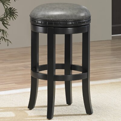Bulwell 26 Swivel Round Bar Stool