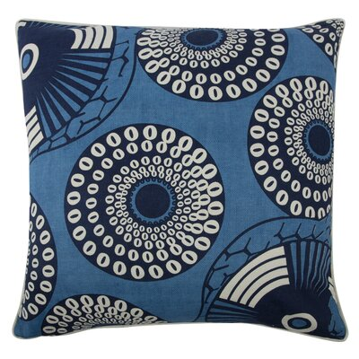 The Resort Yinka Pillow Cover Color: Azure