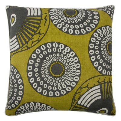 The Resort Yinka Pillow Cover Color: Ochre