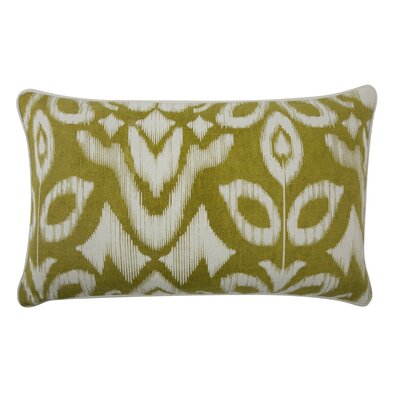 The Resort Ikat Pillow Cover Color: Ochre