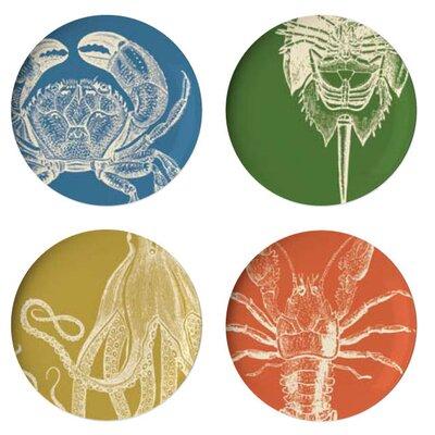 Sea Life Dinner Plate (set Of 4)