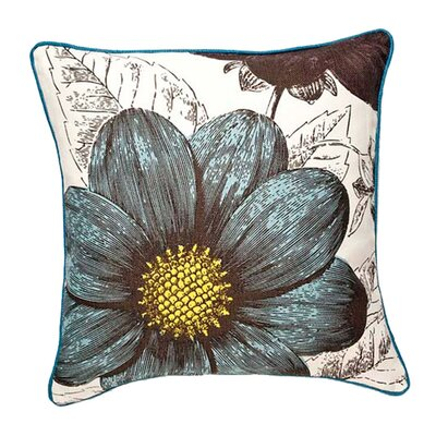 Botany Reversible 100% Linen Throw Pillow