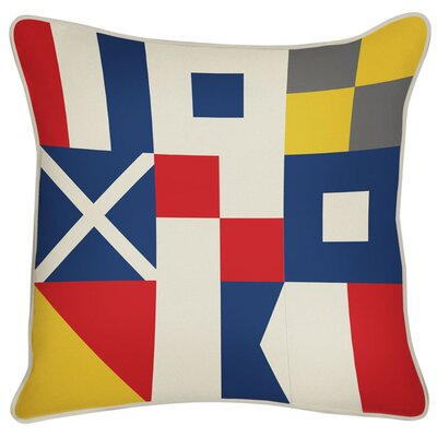Outdoor Flags Throw Pillow