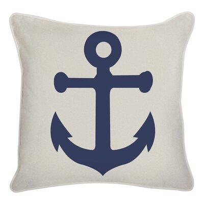 Anchor Reversible Indoor/Outdoor Throw Pillow