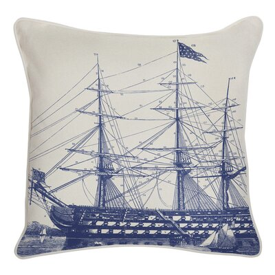 Ship Reversible Indoor/Outdoor Throw Pillow