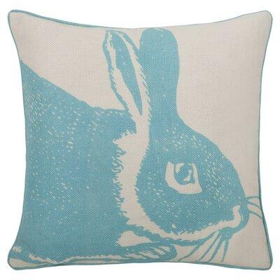 Bunny Reversible 100% Linen Throw Pillow