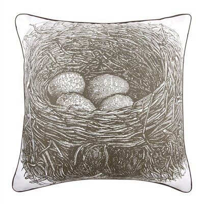 Nest 18 Cotton Throw Pillow