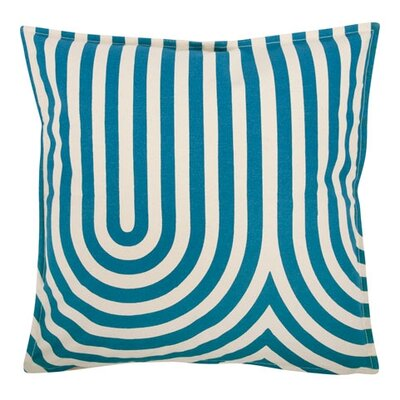 Geometric 18 Cotton Throw Pillow