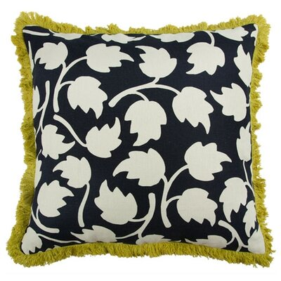 Vines 22 Linen Throw Pillow