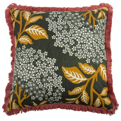 Sprig 22 Linen Throw Pillow
