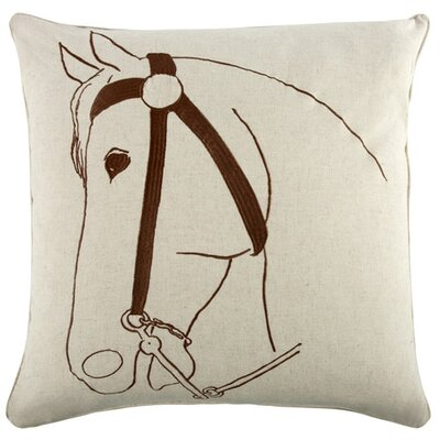 Thoroughbred 22 Linen Throw Pillow