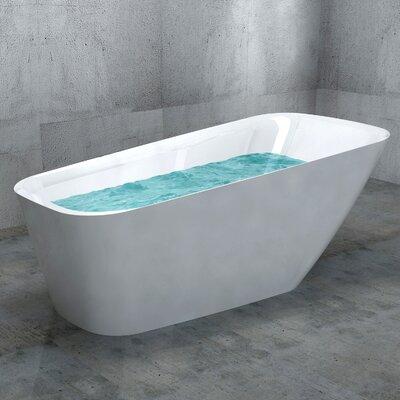 66.9 x 30.31 Soaking Bathtub