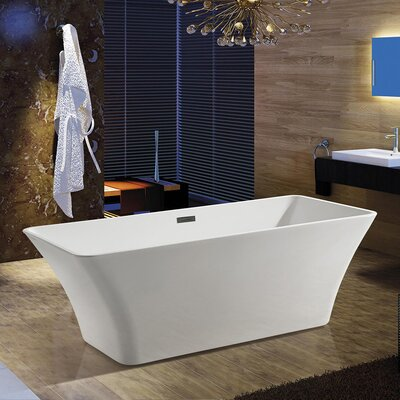 66.93 x 31.5 Soaking Bathtub