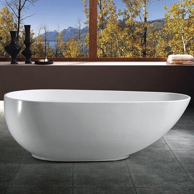 66.93 x 33.46 Soaking Bathtub
